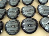 1950's Silver Grey Lucite Buttons on Original Card(SOLD)