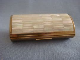 1950s Ronson Cigarette Case -  Cocktail case with Mother of Pearl (SOLD)