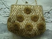 1960's - 1970's Beaded Evening Bag - Clutch Purse or on Chain (SOLD)