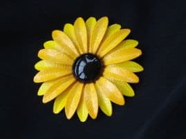 1960's/1970's Bright Yellow Daisy Brooch (SOLD)