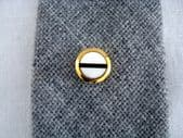 1960's Round Mother of Pearl Tie Tack in the Art Deco Revival Style (Sold)