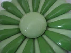 1960's Vintage Flower Brooch in two shades of Green (SOLD)