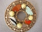 Attractive Vintage Miracle Brooch with Open Centre