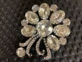 Dolce and Gabbana Designer Crystal Brooch - Stunning!
