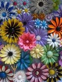 FABULOUS FLOWER BROOCHES -THE PERMANENT CORSAGE - Wear a Flower that is everlasting...