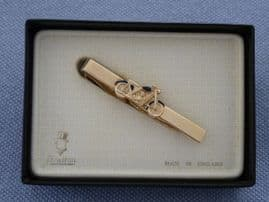 Motorbike Tie Clip - Vintage Motorcycle Tie Pin by Stratton, England (SOLD)