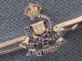 Royal Army Ordnance Corps - Silver and Enamel Bar Pin(SOLD)