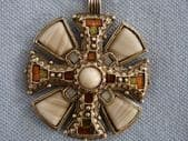 St. Cuthbert's Cross Pendant by Miracle  (SOLD)