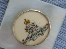 World War 2 - 1940s Sweetheart Pin in Mother of Pearl - Royal Artillery(SOLD)