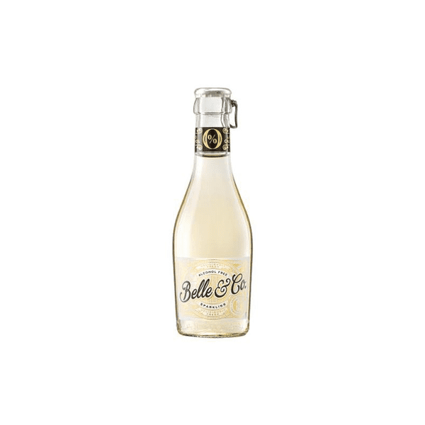 Belle & Co (Bees Knees) Alcohol Free Sparkling Brut  Single Serve 20cl (0% ABV)