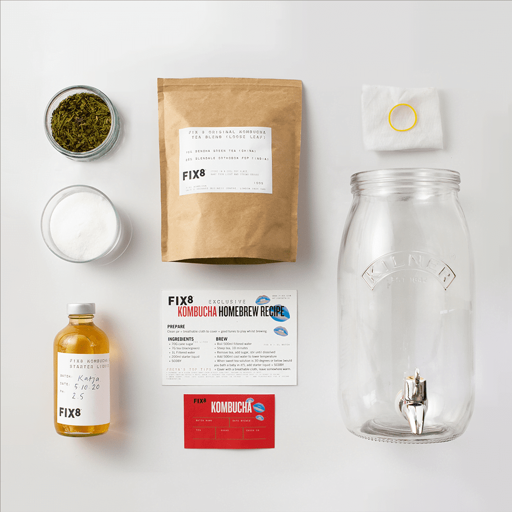 Fix8 Kombucha Homebrew Kit