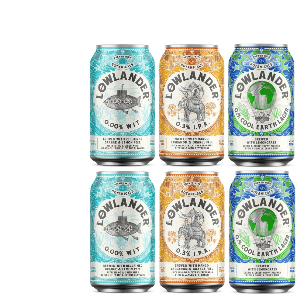 Lowlander Alcohol Free Mixed Pack (Save 5%)
