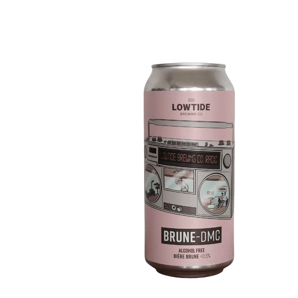Lowtide Brewing Brune DMC  Alcohol Free Beer (0.5% ABV)
