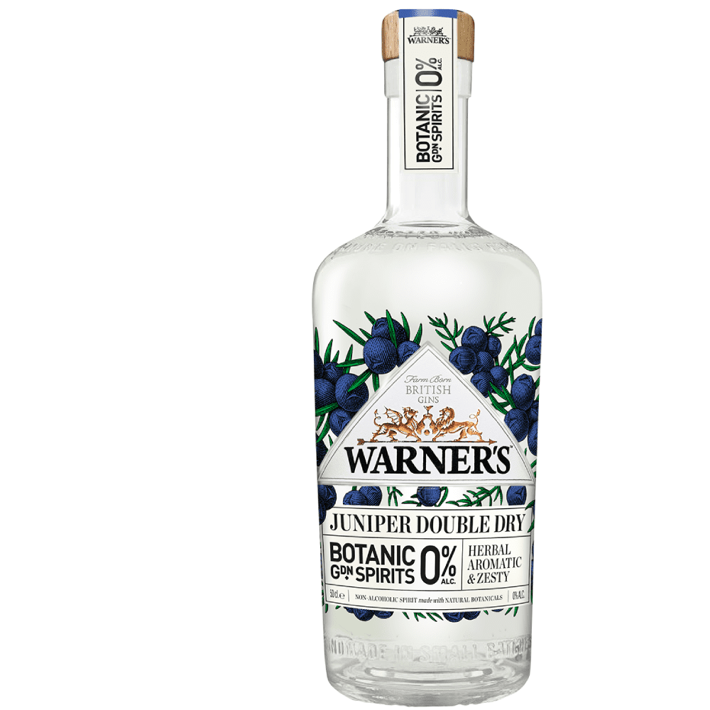 Warner's Juniper Double Dry - 0%  Alcohol Free Botanic Garden Spirits