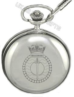 HMS Broadsword Pocket Watch