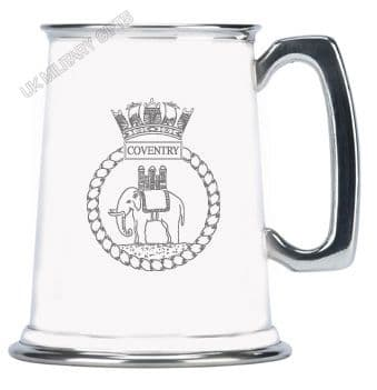 HMS Coventry Pewter Tankard