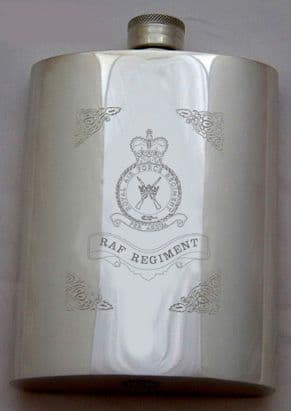 RAF Regiment Hip Flask