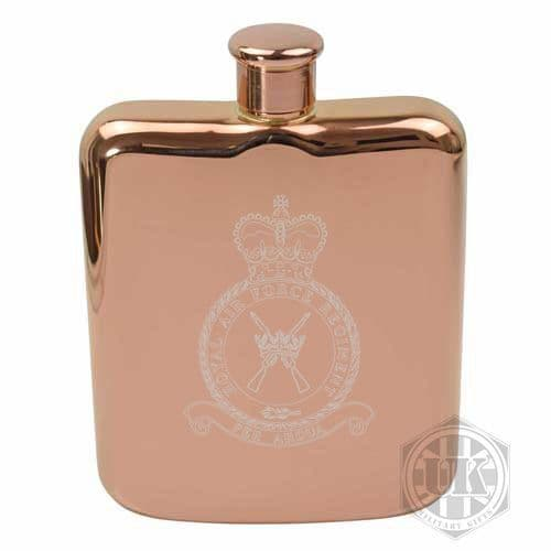 RAF Regiment Steel Hip Flask