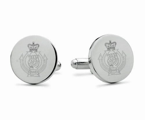 Royal Armoured Corps Engraved Cufflinks