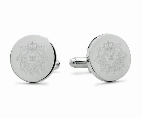 Royal Logistic Corps Engraved Cufflinks