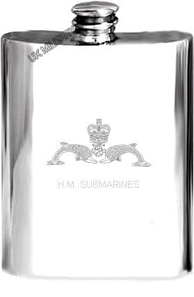 Submariners Hip Flask