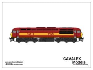 Cavalex CM-56018-EWS, 56.018, EWS Maroon and Gold Livery [TO BE RELEASED]