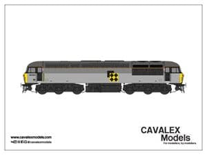 Cavalex CM-56023-TGCS, 56.023, Railfreight Triple Grey, Coal Sector [TO BE RELEASED]