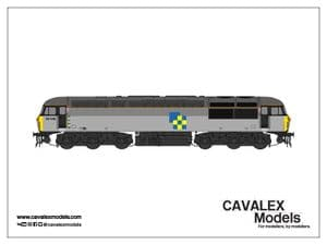 Cavalex CM-56046-TGC, 56.046, Railfreight Triple Grey, Construction Sector [TO BE RELEASED]