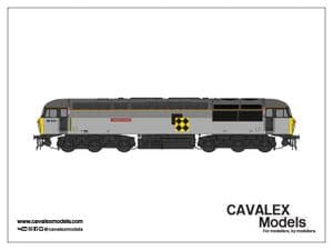 Cavalex CM-56074-TGCS, 56.074, Railfreight Triple Grey Livery, Coal Sector [TO BE RELEASED]