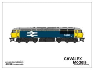 Cavalex CM-56120-LL, 56.120, BR Large Logo Livery [TO BE RELEASED]