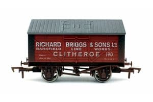 Dapol 4F-017-024 Richard Briggs (Clitheroe) Lime Wagon No.190