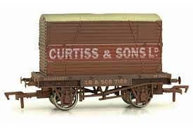 Dapol 4F-037-109 Curtiss & Sons Conflat Wagon, Weathered