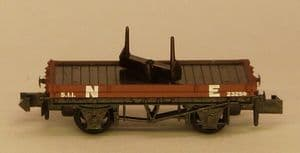 Peco NR-39E N.E. Single Bolster Wagon (x2)