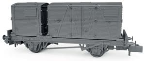 Rapido 921018 BR Conflat 'P' Wagon, Crimson & Bauxite Liveries, Triple Wagon Pack [NOT YET RELEASED]
