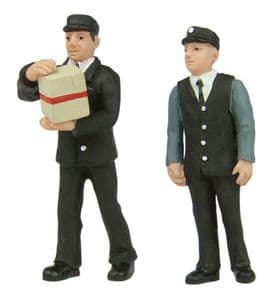 Scenecraft 47-412 Station Staff 1970s, Set B (2 Figures)