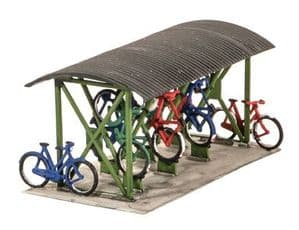 Wills SS23 Cycle Shed with Bikes
