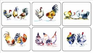 Lady Clare Tablemats - chickens