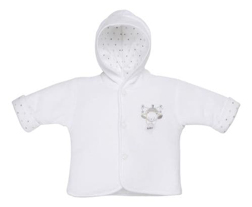 AV1871W Tiny baby Bear Hooded Jacket