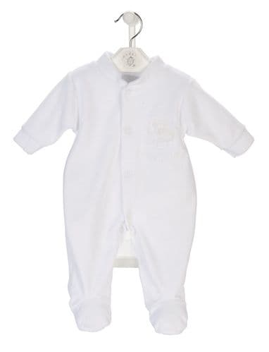 Velour sleepsuit | Onesie | New Baby |