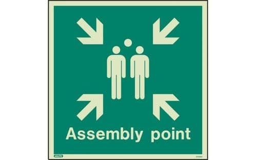 4128Q - ASSEMBLY POINT SIGN