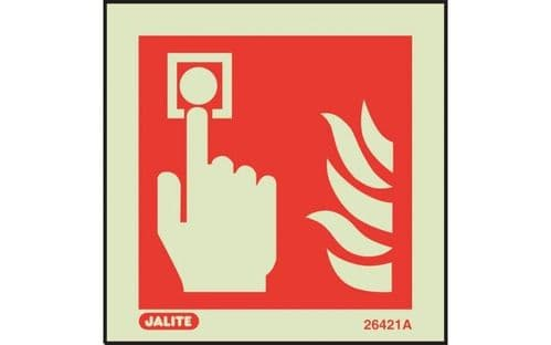 6421A/R - FIRE ALARM LOCATION SIGN