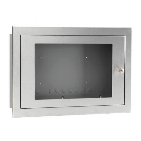 BF359/3S Glazed Stainless Steel Enclosure, shallow
