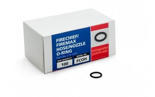 FCOH - FIRECHIEF FIRE EXTINGUISHER HOSE/NOZZLE O-RING