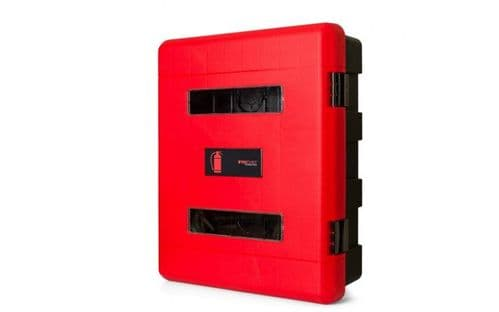 FIRECHIEF 106-1157 - DOUBLE FIRE EXTINGUISHER CABINET