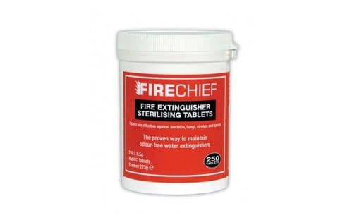 FIRECHIEF ECT1 - FIRE EXTINGUISHER STERILISING TABLETS