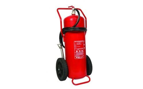 FIRECHIEF FXP100 - 100KG POWDER WHEELED FIRE EXTINGUISHER