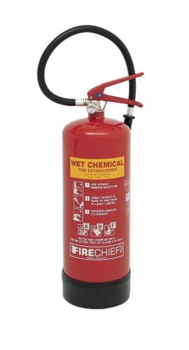 FIRECHIEF FXWC6 - XTRWC6R 6L Cemical Fire Extinguisher Red
