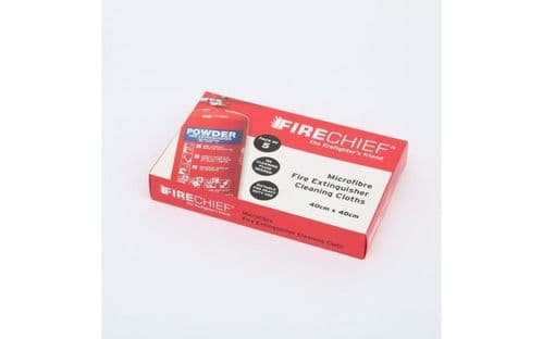 FIRECHIEF MFC1 - MICROFIBRE FIRE EXTINGUISHER CLEANING CLOTH
