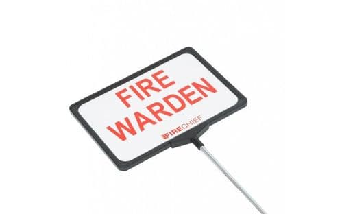 FIRECHIEF TFW1 - Telescopic Fire Warden Sign