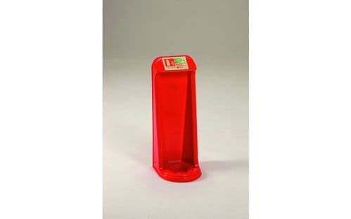 FIRECHIEF TPS1/RED - VACUUM FORMED SINGLE FIRE EXTINGUISHER STAND